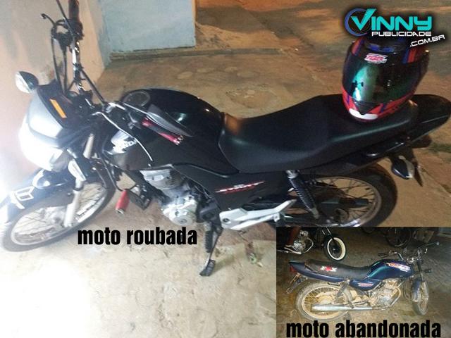 Ituaçu: Bandidos assaltam Farmácia, abandonam moto e roubam moto de funcionário
