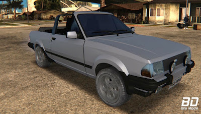 Download, mod, carro, Ford, Escort, XR3, 1986, Cabriolet, GTA San Andreas , GTA SA, PC