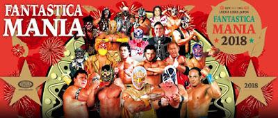 NJPW PRESENTS CMLL FANTASTICA MANIA 2018