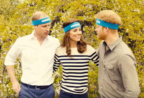 Duchess Catherine, Prince William and Prince Harry starts a new campaign. Heads Together