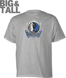 Big and Tall Dallas Mavericks T-Shirt