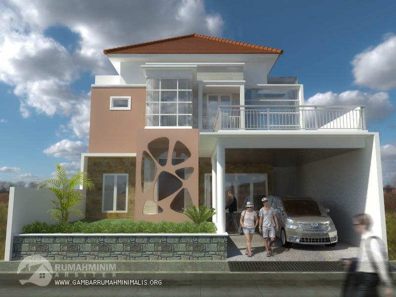 desain rumah santi surabaya