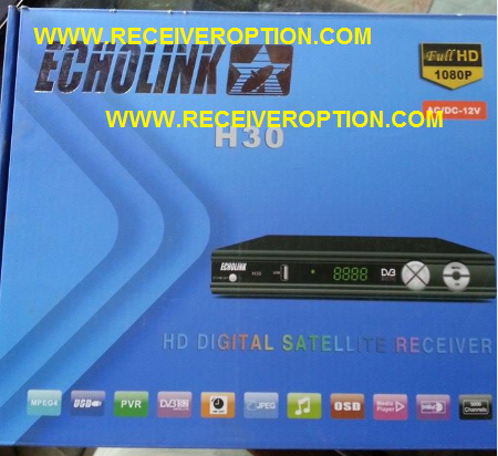 ECHOLINK H30 HD RECEIVER CCCAM OPTION