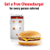 Up to 30 FREE McDonald's Cheeseburger for you and a Friend via App