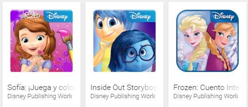 Todos los juegos de Disney para Android