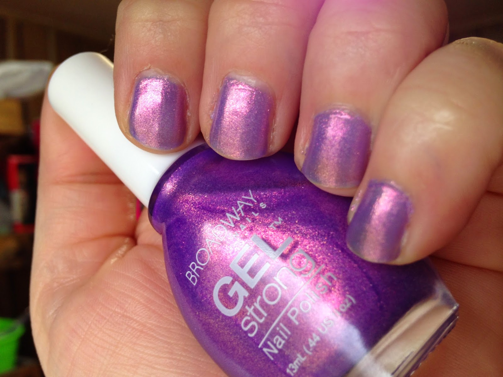 Small Budget Beauty Broadway Nails Ultra Violet