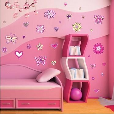 Estupendos dormitorios para ni as en color rosa - Dormitorios de nina ...