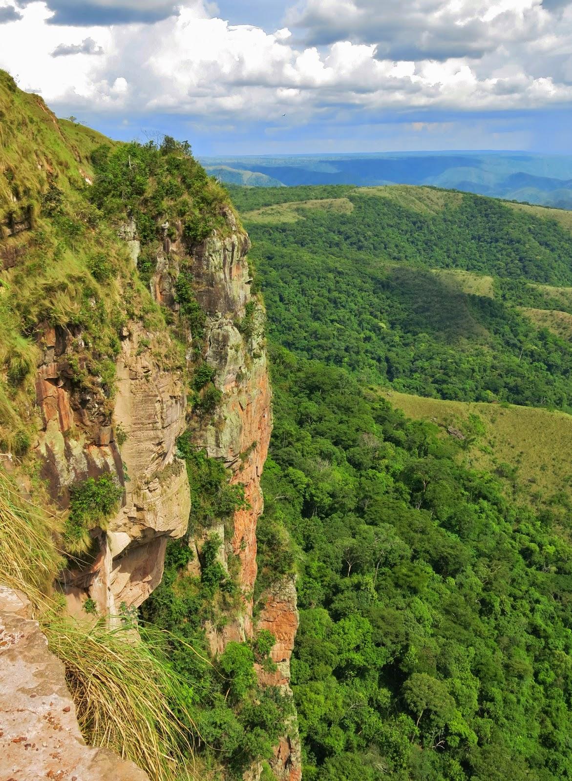 O Centro Geodésico da América do Sul, na Chapada dos Guimarães.
