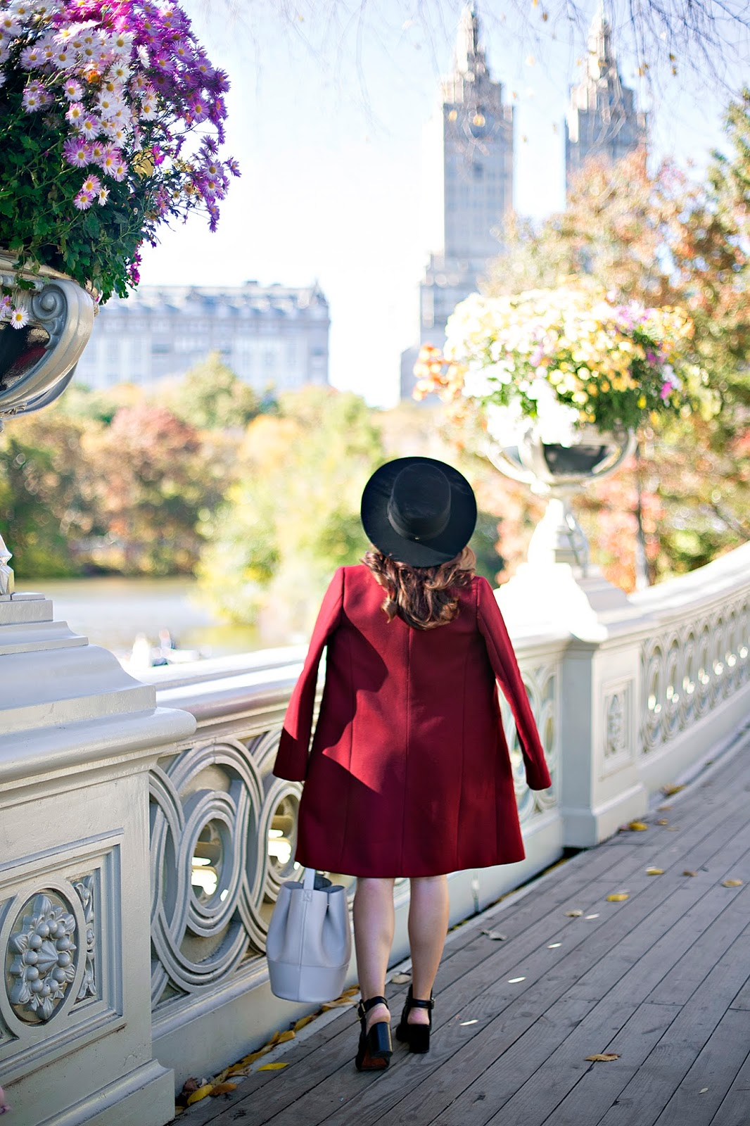 Fall in Central Park, Bow Bridge