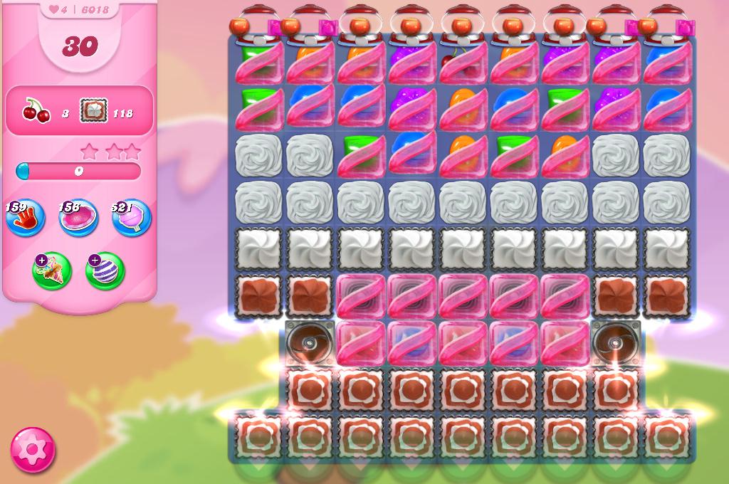 Candy Crush Saga level 6018