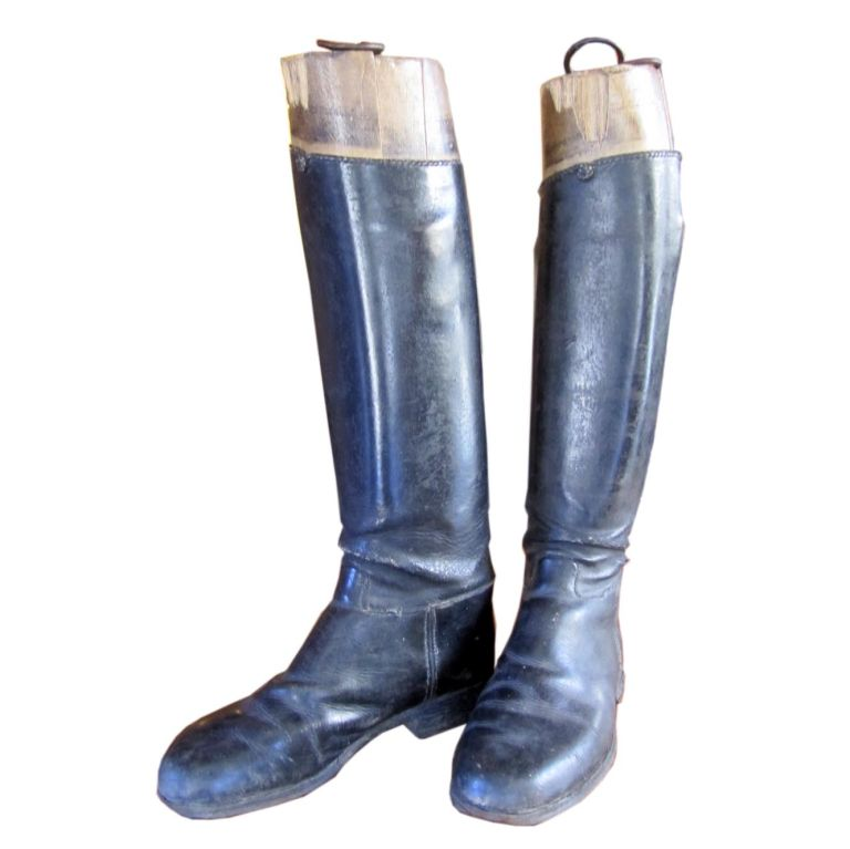 Boots Costume Pic English Riding Boots Vintage