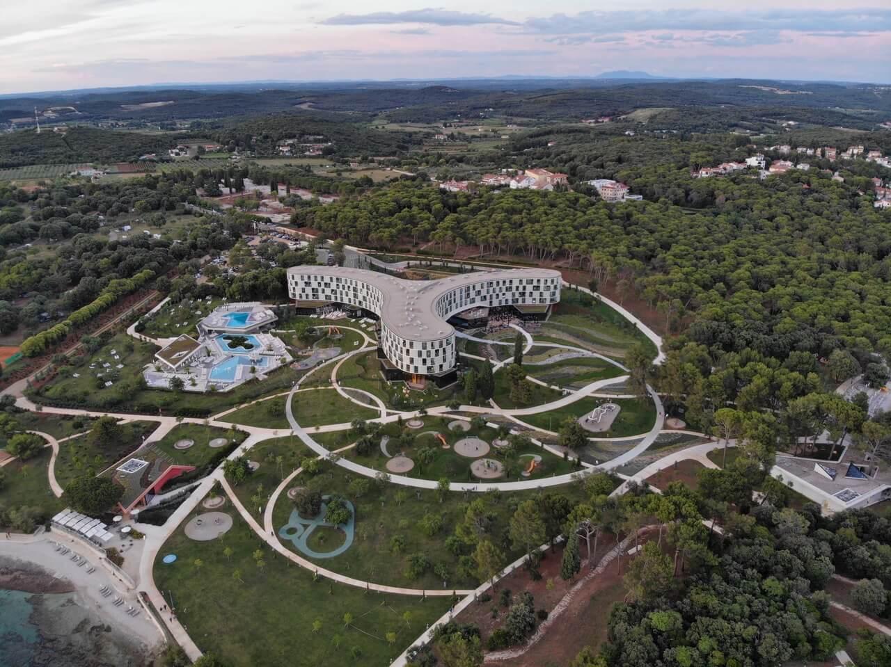Hotelanlage Family Hotel Amarin in Rovinj, Kroatien