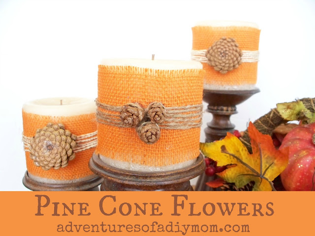 How to Make Pinecone Flowers