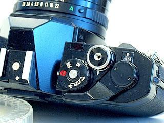 Canon AV-1, Shutter modes