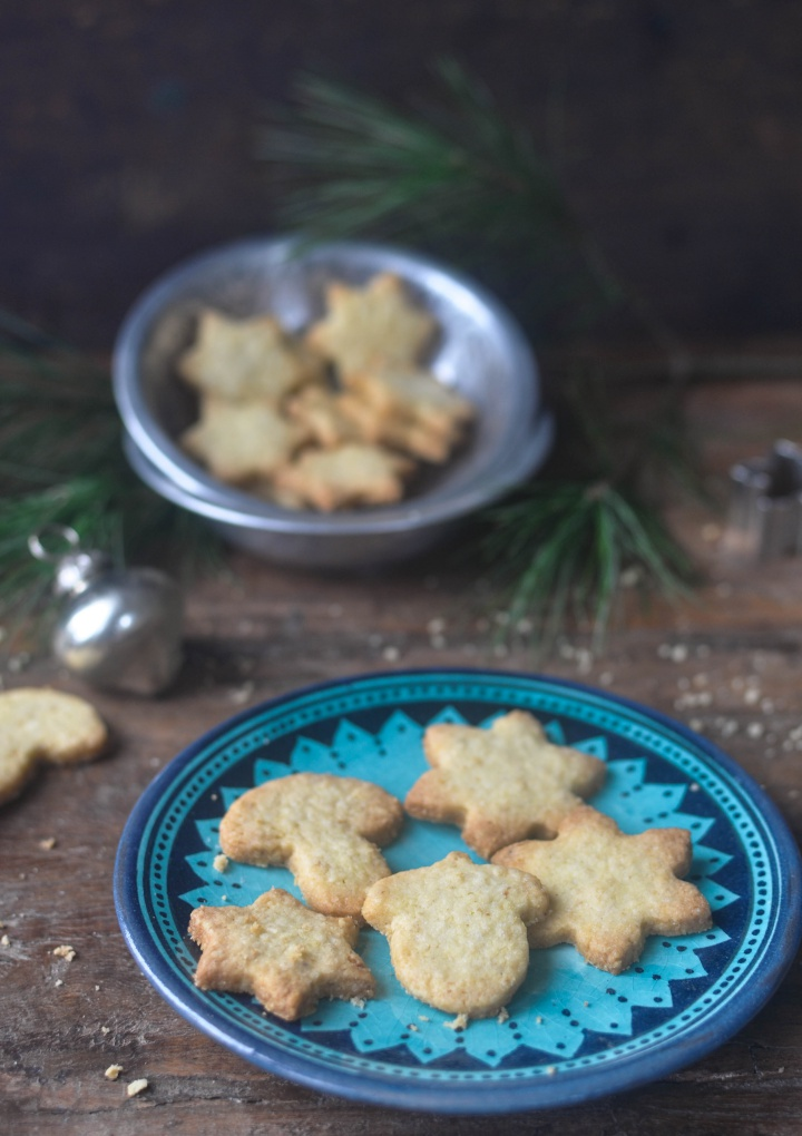 gluten free Butter Cookies, a traditional German recipe for the holidays