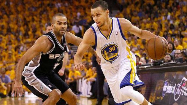 Gros duel de meneur cette nuit entre Tony Parker (San Antonio) et Stephen Curry (Golden State)