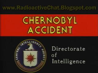 1986 CIA Historical Chernobyl Briefing for Ronald Reagan