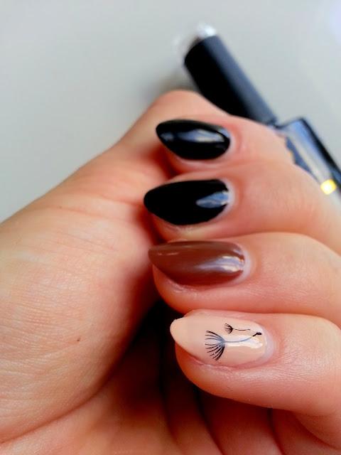 pomysly na manicure hybrydowy