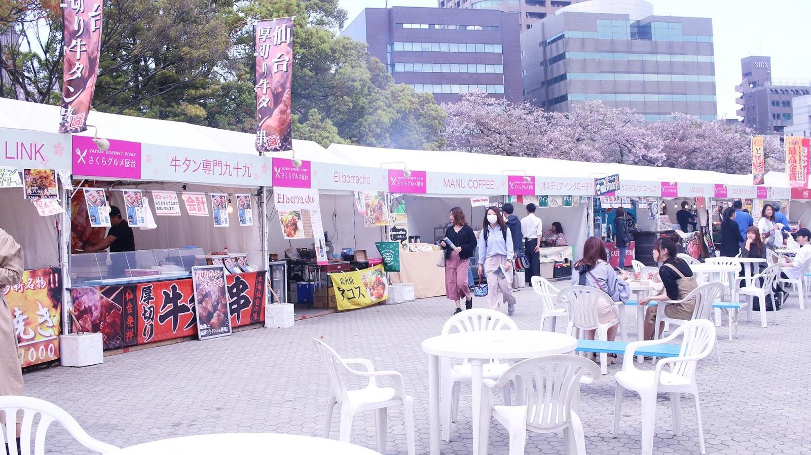 Fukuoka Travel Guide: Fukuoka Castle Cherry Blossom Festival & Ohori ...