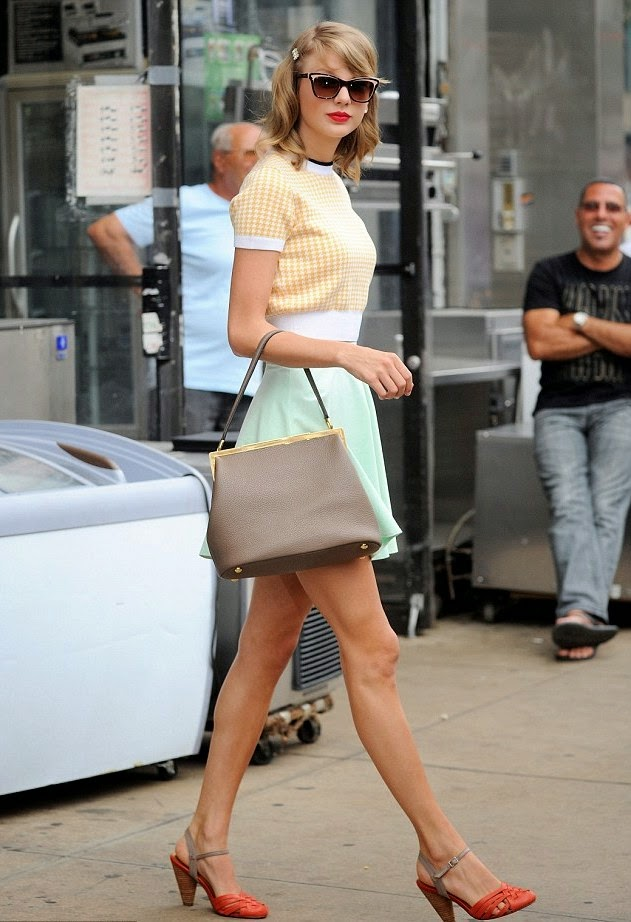 Spotted- Celebs rocking the pastel trend in their Street Style looks