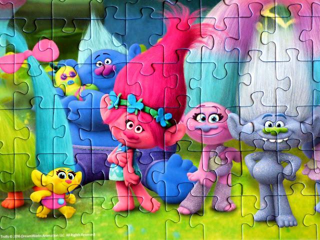 childrens' puzzles, Trolls