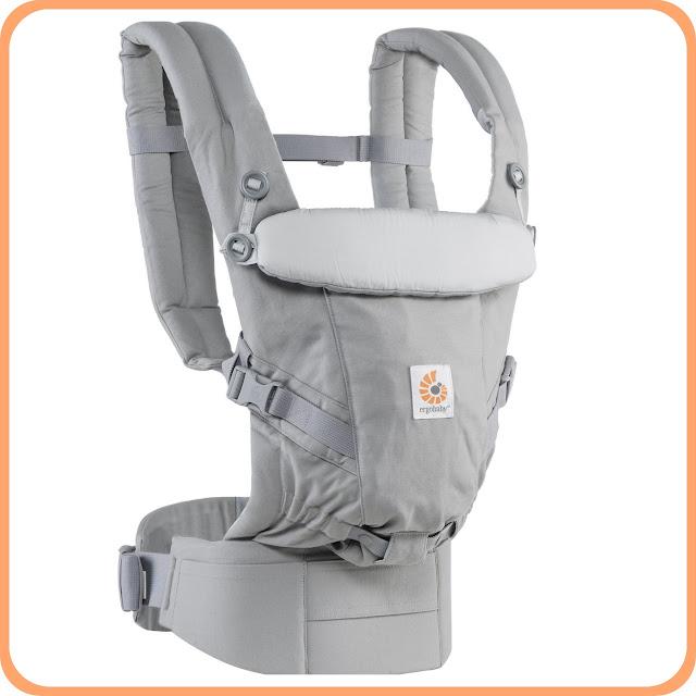 Mochila Ergobaby para llevar a tu bebé delante, a la espalda y a la cadera