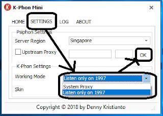 k-phon cara menggunakan k-phon