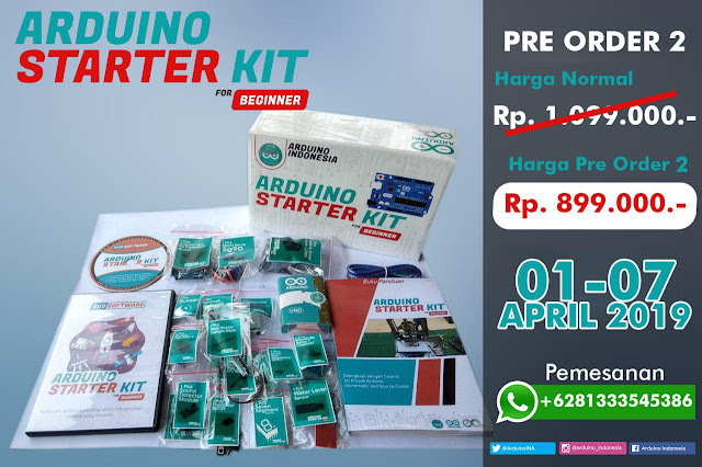 Arduino Starter KIT for Beginner - Premium Version - Made in Indonesia