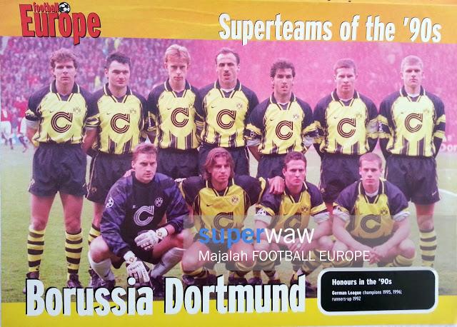 Poster Pin up Tim Borussia Dortmund 1995