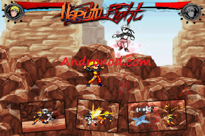 Naruto Fight Shadow Blade X v0.8.0 Full Apk