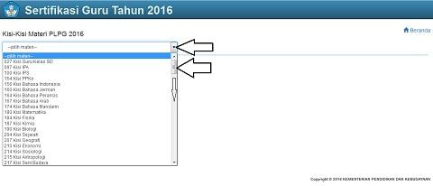 Kisi-Kisi Materi PLPG Sertifikasi Guru 2016