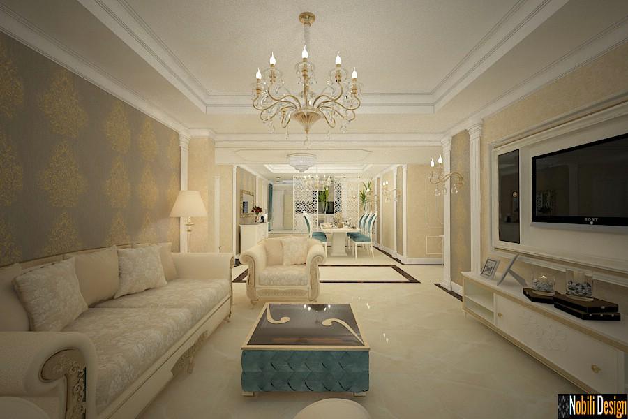 Proiect design interior case clasice - Amenajari interioare vile moderne Bucuresti