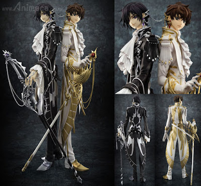 Figura CLAMP works in Lelouch & Suzaku G.E.M. Limited Edition CODE GEASS Lelouch of the Rebellion R2