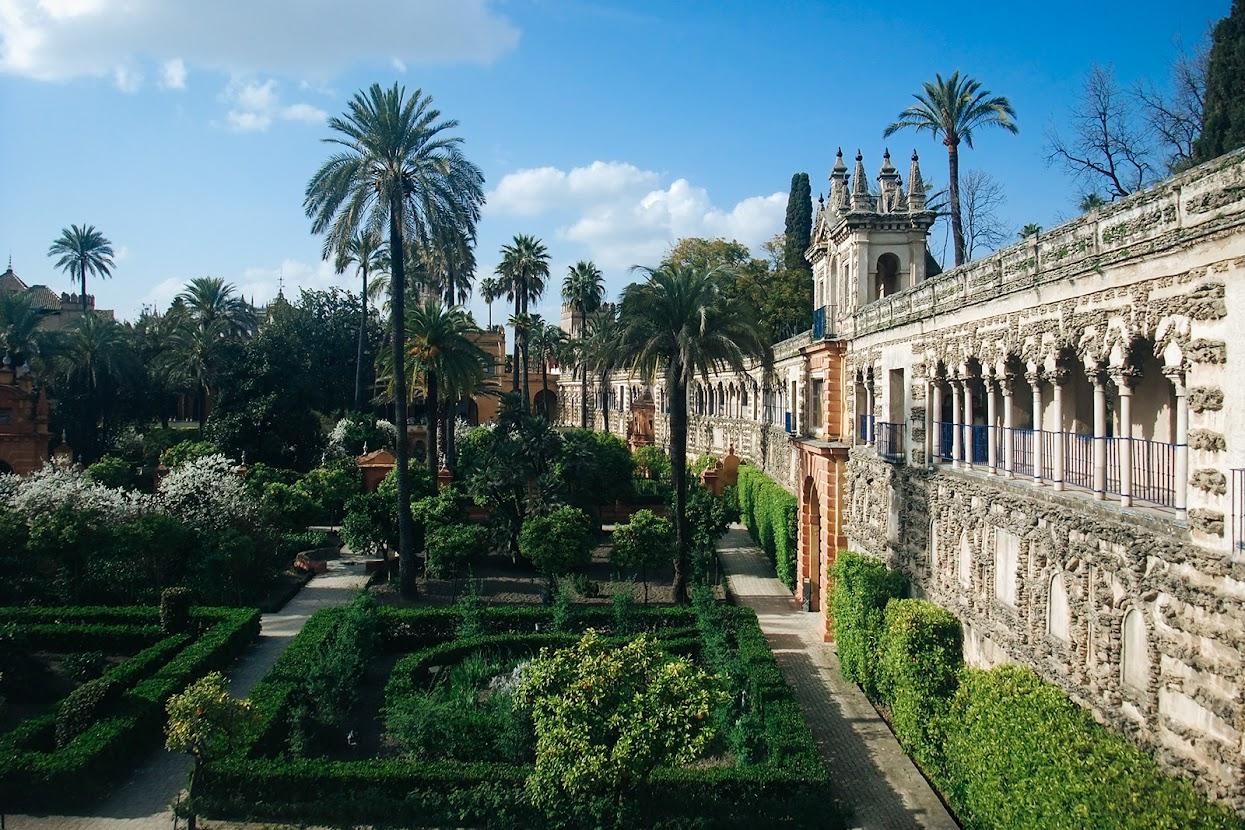 Visitar a Andaluzia - Jardins do Alcazár de Sevilha