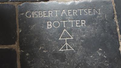 Het graf van Gisbert Aertsen Botter