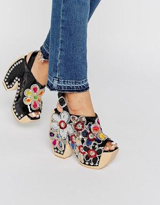fotos de Zapatos de Plataforma Mujer