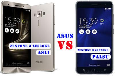 12 Cara Cek Asus Zenfone 3 ZE520KL Asli Atau Replika