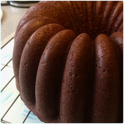 Chocolate Praline Bundt Cake