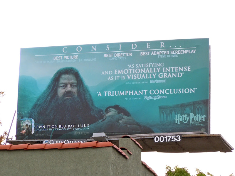 Harry Potter Hagrid billboard