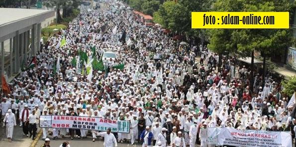 Aksi Damai Umat Islam di Jakarta - Blog Mas Hendra