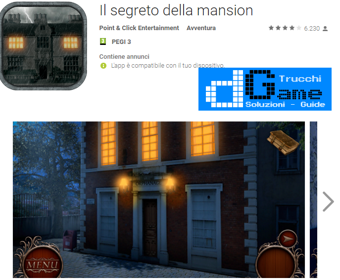 Soluzioni Secret of the Lost Manor livello  1  2  3  4  5  6  7  8  9 10 | Trucchi e  Walkthrough level