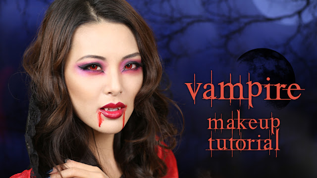 tutorial sexy vampire makeup halloween 2013 from head to toe. Black Bedroom Furniture Sets. Home Design Ideas