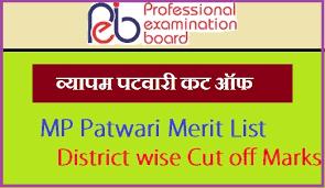 MP Vyapam Patwari Cut off Marks 2018 - Expected Patwari Merit List