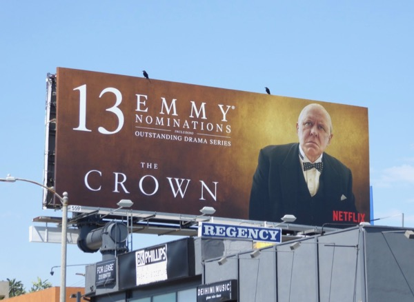 Crown 13 Emmy Churchill billboard