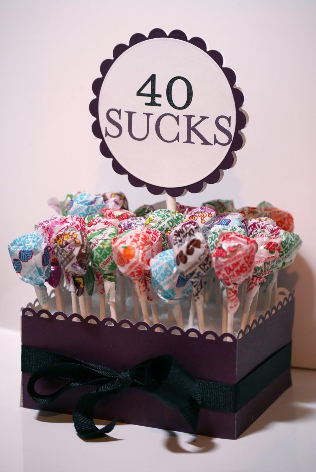 40th Birthday Ideas Fun