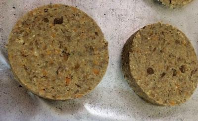 hamburguer lentilha