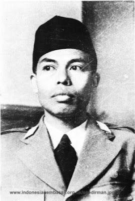 sejarah biografi riwayat hidup jendral sudirman, foto Jenderal Sudirman