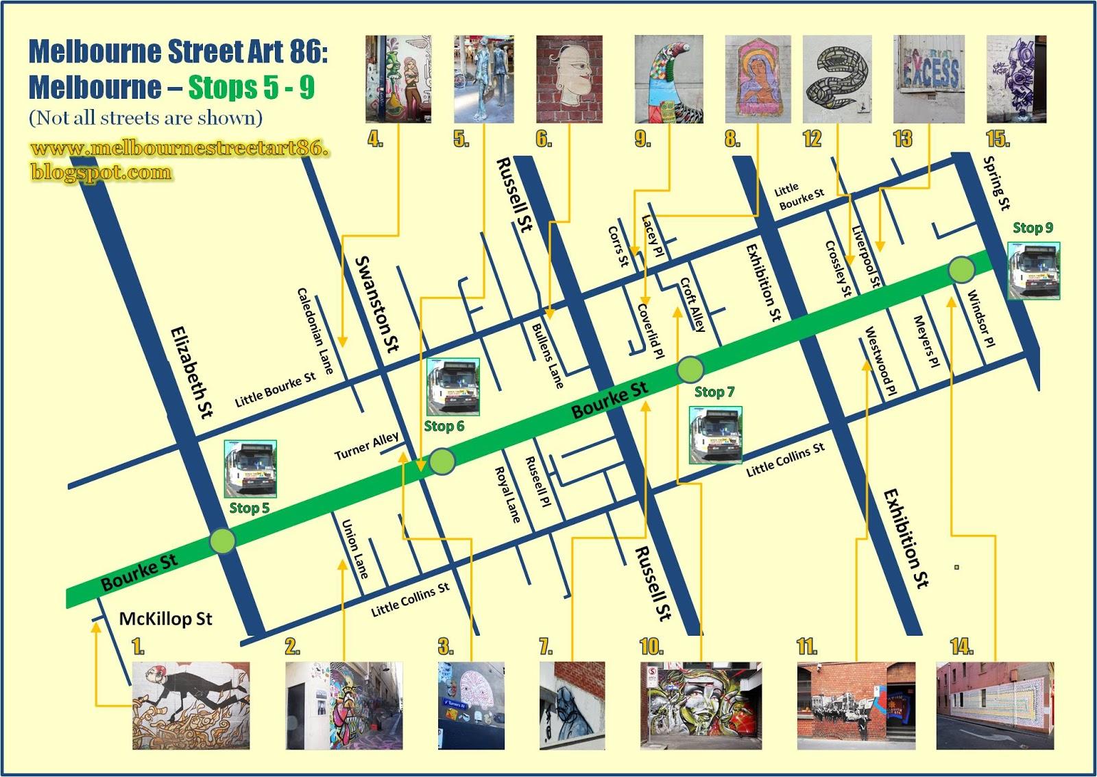 Melbourne Street Art Map Melbourne Street Art Map | compressportnederland Melbourne Street Art Map