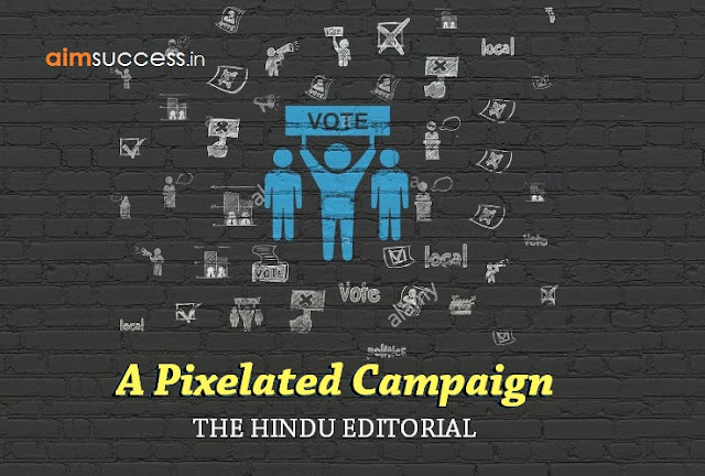 A Pixelated Campaign: THE HINDU EDITORIAL