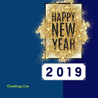 31 st December Night welcome to sparkling New Year 2019 HD images